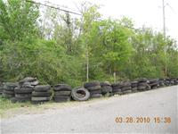 Tires on the road