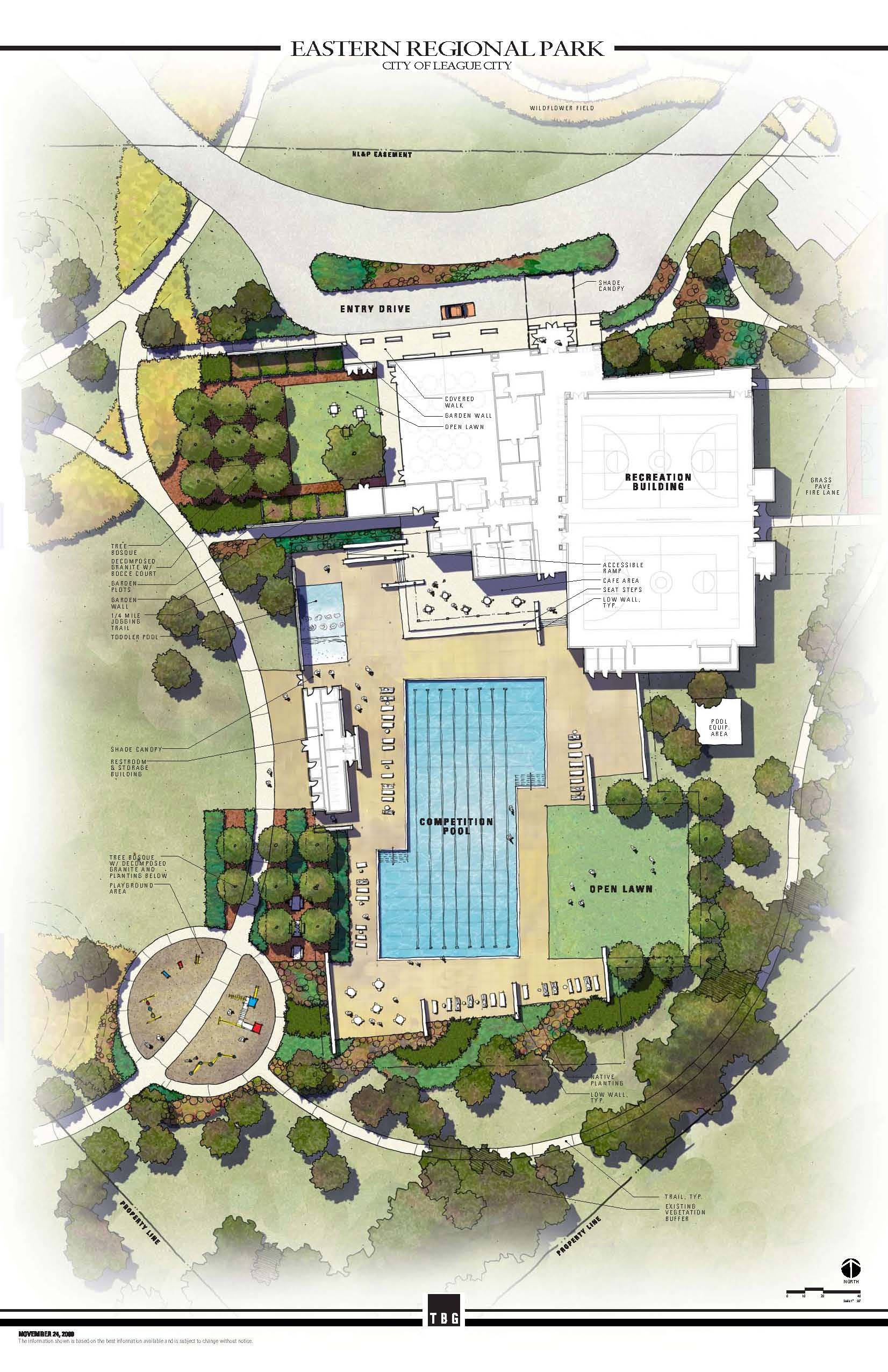 The League City Official Website Building Pool Plan View