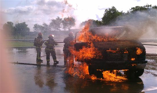 Vehicle Fire Training